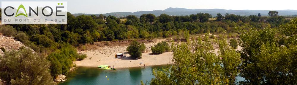 Location Canoë Hérault : Les Canoës du Pont du Diable - une balade pour tous sur l'Hérault en canoë